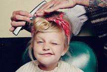 Penteadinhos / Inspirações fofas para fazer nos cabelos das crianças. ;)