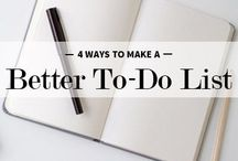 Productivity: How to get stuff done / Productivity tips, organization, planners, motivation!