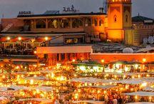 m a r r a k e c h  c i t y / The beautiful city of Marrakech in Morocco