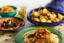 m o r o c c a n  f o o d / Delicious Moroccan Food.