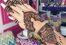 m o r o c c a n  h e n n a  d e s i g n s / Beautiful Moroccan henna designs for weddings etc.