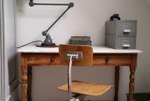 INSPIRATIE   Werkplek / Styling ID interieur inspiratie. Leuke ideeën voor een werkplek thuis. #wonen #woonideeën #woondecoratie #woonaccessoires #interieur #interieurtips #interieurideeën #interieurinspiratie #interieurdesign #interieurstyling #stylingtips #sfeer #foto #industrieel www.styling-id.nl