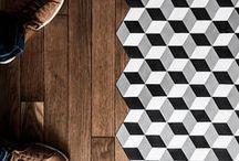 GEOMETRISCH interieur / Geometrische vormen in het interieur