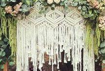 All Things // Wedding / natural, bohemian wedding inspiration
