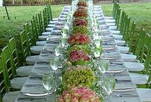 AL FRESCO / You prepare a table before me in the presence of my enemies; Psalm 23 NO LIMIT ON PINS. ENJOY.  / by Jan Gruber