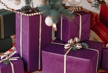 * Holiday Gift Wrapping * / Some inspiration for the holidays. Because giving gifts can be just as fun as receiving them, if not more...