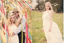 vintage wedding  / hippie, bohemian, vintage, surfer, tattoed style