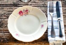 DINING / Ideas for table decorations