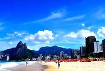 rio de janeiro / A colorful, vibrant city where time is flexible and carioca is the way of life. / by Mia Blume