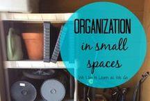 Organization / Keeping things organized!
