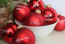 """CHRISTmas / Matthew 1:21  She will give birth to a son, and you are to give him the name Jesus, because he will save his people from their sins.""""  NO LIMIT ON PINS. ENJOY.  / by Jan Gruber"""