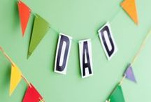 Father's Day Ideas / An inspiration board for gifts, food, images & events to celebrate the perfect Father's Day.