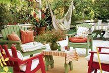 Go Outside / Amazing outdoor furniture, garden accessory ideas, inspiration and stunning scenery.