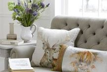 Voyage Maison at Curiosity Interiors / We stock a fantastic selection of Voyage Maison soft furnishings and home accessories including duck feather filled cushions, footstools, lamps and floor cushions. All made and designed here in Great Britain. Be Curious! Visit www.curiosityinteriors.co.uk Photpgraphs by Leigh Mcara and Curiosity Interiors