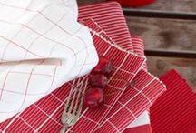 Rojo y blanco. Combinación perfecta