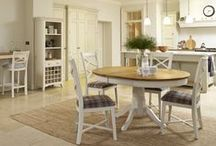 St Ives Oak Living & Dining Furniture / St Ives Living & Dining Furniture from Curiosity Interiors. Our solid oak two-tone furniture range offers a lovely selection of dining tables & chairs, sideboards, larder units, coffee tables and TV stands. All in a selection of either an Off White, Chalk or Grey paint finish.
