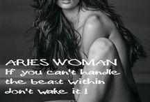 ARIES woman...things