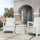 Patio Furniture - WHITE / Clean and pristine, white furniture creates an ambiance of effortless elegance in any part of your home.