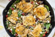 One Skillet Recipes / Great food with little clean-up! These recipes call for just one skillet | one pan | one dish | one wok... you get the idea!
