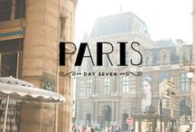 JE T'AIME PARIS / PARIS , need to say more? / by Elaine Nasser ☆