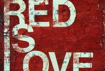 RED   / by Elaine Nasser ☆