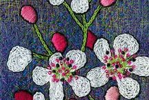 EMBROIDERY & KNOTS / by Elaine Nasser ☆