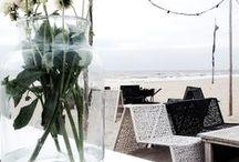 ✿⊱@the  beach / by Joyce