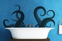 house: bathroom. / by Chelsea Rose Black