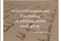i'm a writer / by Aleisha Wright