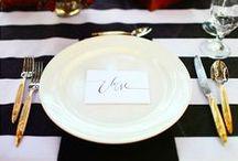 Black & White Wedding / Find inspiration for your perfect day with these Black & White wedding pins. / by Envelopments