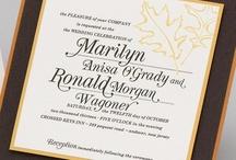 Fall Wedding - Marilyn & Ronald / by Envelopments