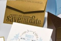 Rustic Wedding Inspiration / This board shows, how we use inspiration and colors to inspire these save the date invitations, and we will continue to use this board to work into the actual wedding invites. The color crush meshes well with the Rustic theme.  / by Envelopments