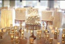 Cream & Gold Wedding / Miranda & Isaiah / by Envelopments