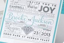Turquoise Wedding / Brooke & Jackson / by Envelopments