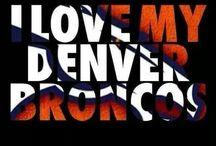 Denver Broncos / by Melanie Elmont
