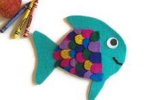 Моря, океаны, вода. Идеи для домашнего дошкольного обучения / Seas, oceans, water. Ideas for home preschool