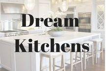 Dream Kitchens / Inspiring kitchen designs / by Phoebe Grace