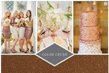 Color Crush Inspiration / This board ties in color schemes for your invitations, wedding ceremony, decorations, and more. Find your inspiration through Envelopment's Color Crushes, and see how far they can take you. / by Envelopments