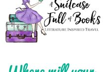 Literary Travel : A Suitcase Full of Books blog / Book inspired travel, armchair adventure, academic travel,