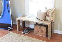 {DIY Furniture} / DIY | designer | furniture | handmade | handbuilt | hand-built | build it | carpentry | furniture design | furniture plans | upcycle | bespoke furniture