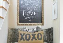 INTERIORS CHALK DUST / by Cottage Jane
