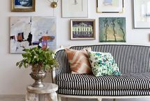 INTERIORS / living area / by Jenn Gaudet
