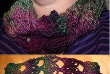 Crochet - Scarf, poncho.... / Scarf, shawl, cowl, poncho, cape, stole....
