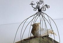 Wire Art - Fil de Fer - Luffarsløyd - Trådslöjd