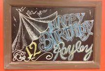 chalkboard art ideas / All things chalkboard....  / by Ona Ginger