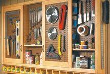 {Workshop + Design Studio} / basement workshop, workshop, woodshop, studio, design studio, basement renovation