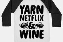 Om strikking, garn og annen moro / On knitting, yarn, and more fun