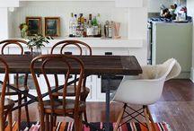 INTERIORS / dining.kitchen / by Jenn Gaudet