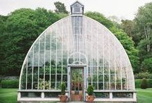 Greenhouse / Plantlife / Greenhouse / Planting / Places to be / Design / Gardening Ideas