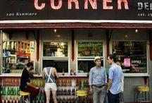 Corner stores / Liquor & Wine / Sandwiches & Coffee / Grocery - Inspiration